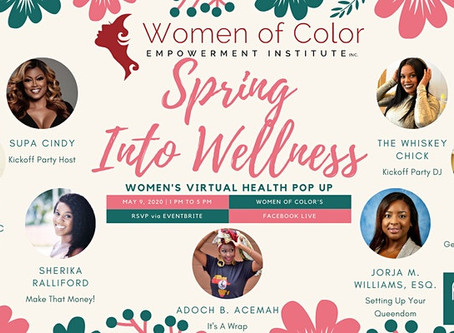 Spring Into Wellness with the Women of Color Empowerment Institute