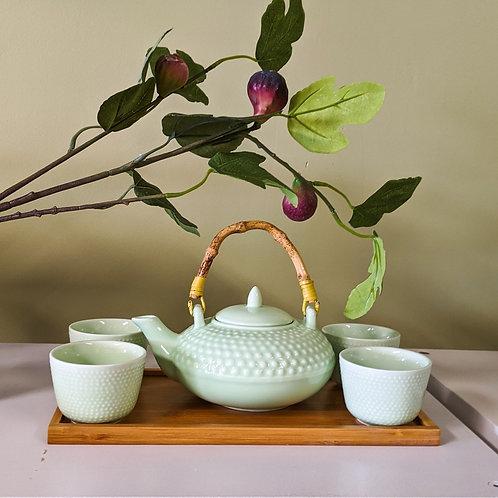 Mint Green Tea Set