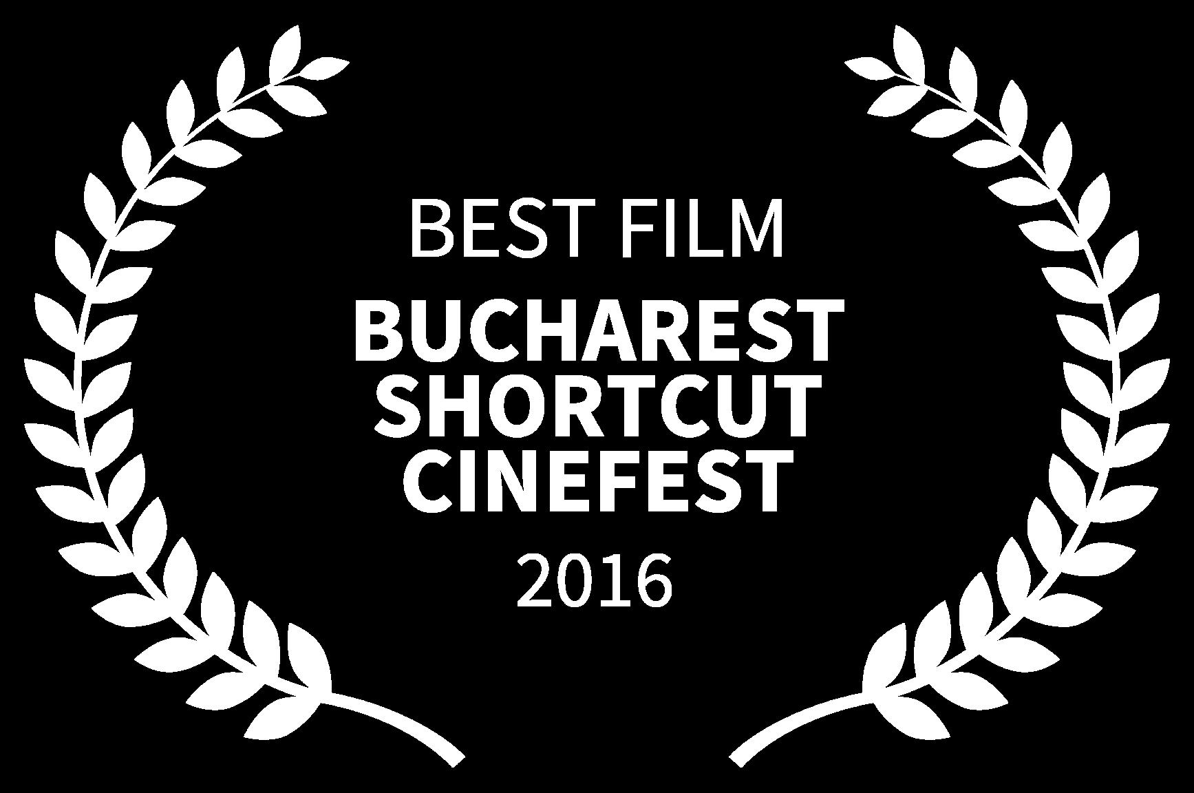 BEST FILM - BUCHAREST SHORTCUT CINEFEST - 2016