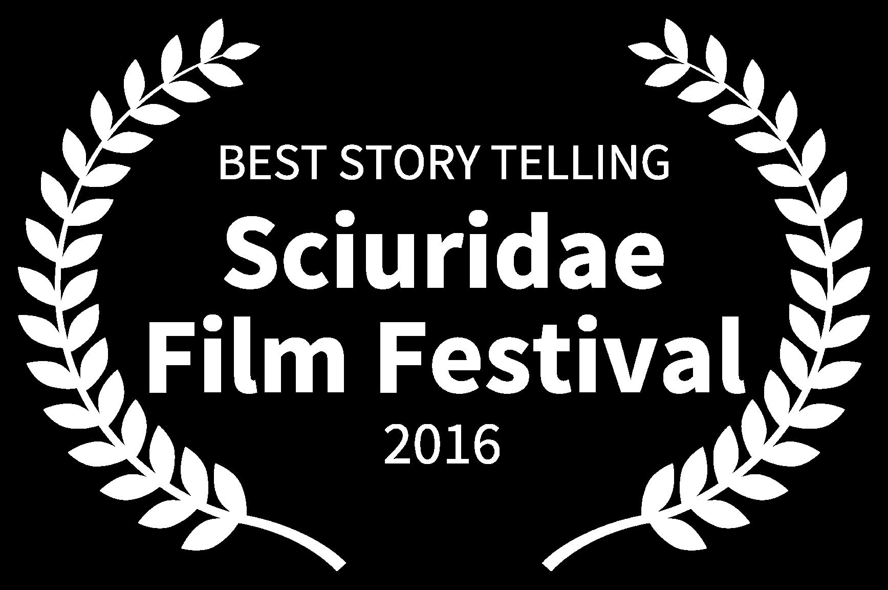 BEST STORY TELLING - Sciuridae Film Festival - 2016
