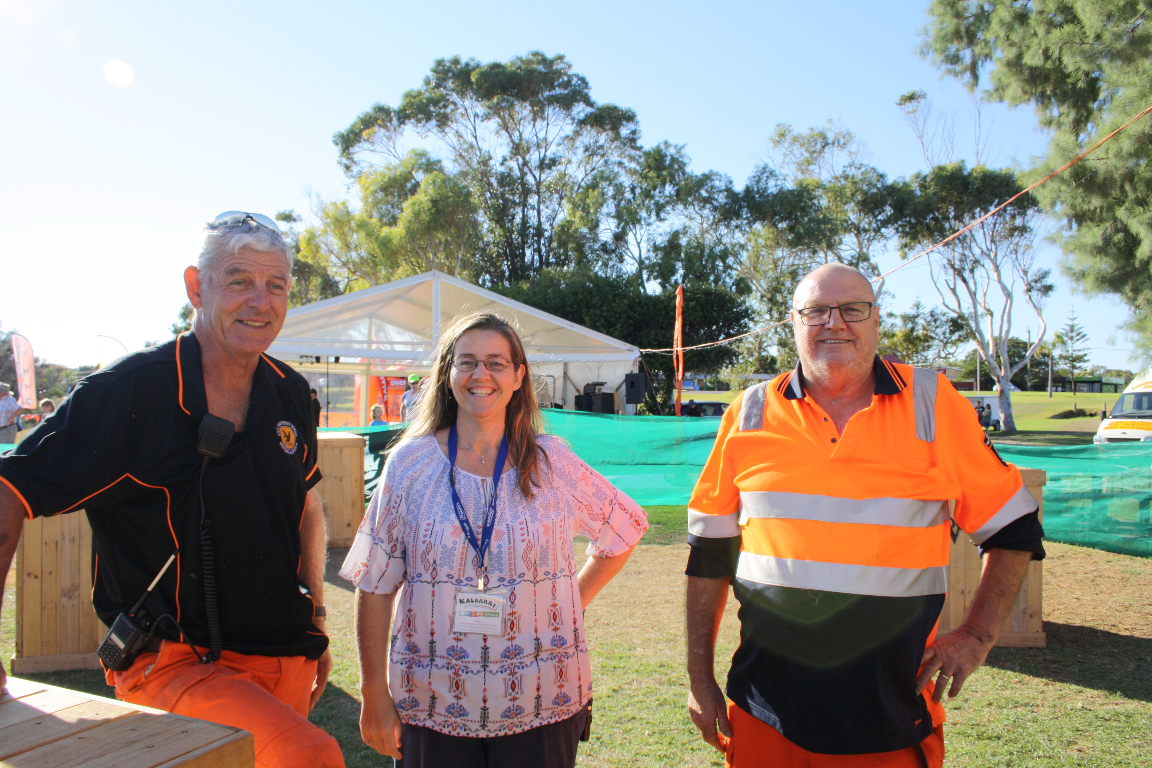 Helpers at the Kalbarri Canoe and Cray Carnival