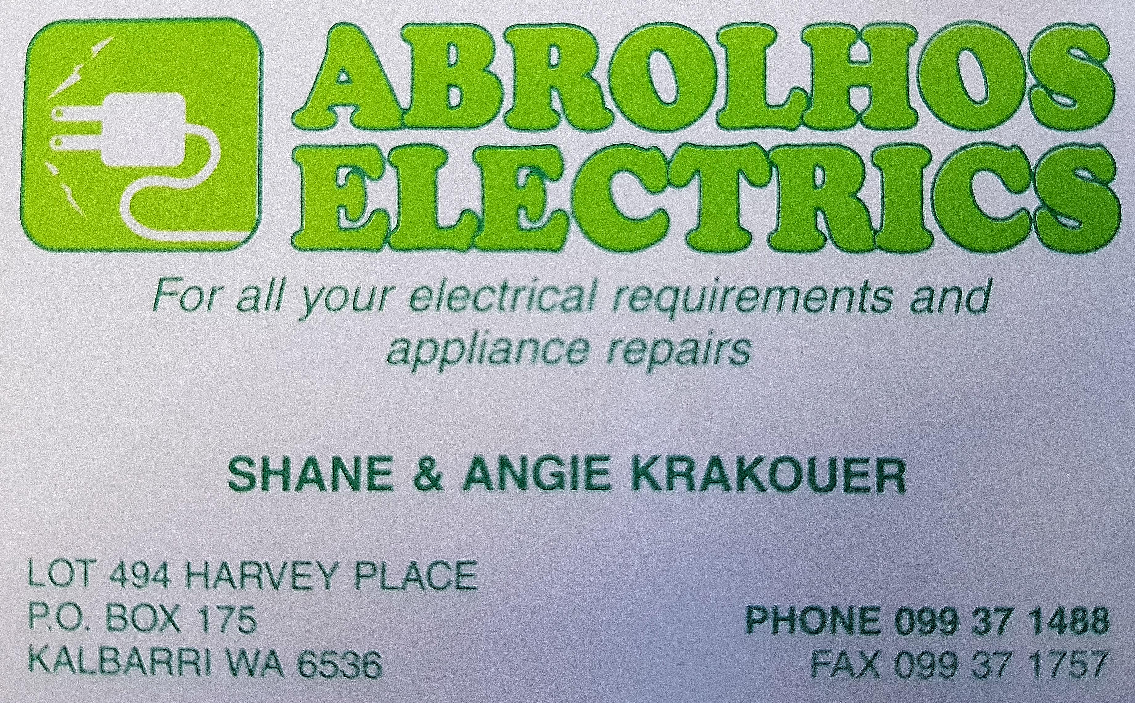 Kalbarri_Abrolhos Electrical