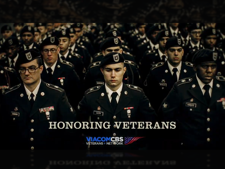 "A ""Veterans Day"" recap from the ViacomCBS Veterans Network"
