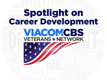 Spotlight on Career Development with the ViacomCBS Veterans Network