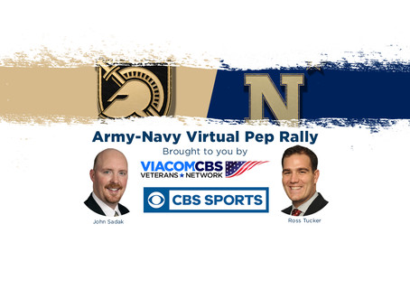 ViacomCBS VetNet Hosts first Virtual Army Navy Pep Rally