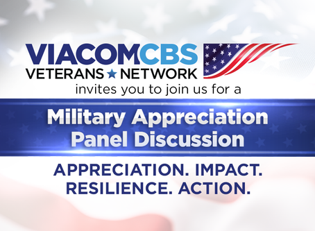 Your invited to join our live Military Appreciation Panel Wednesday June 17th 5pm EST/2pm PST