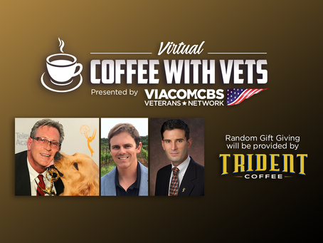 "ViacomCBS Veterans Network holds first ""Virtual Coffee with Vets"""