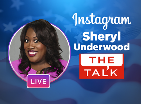 ViacomCBS Veterans Network GOES LIVE ON INSTAGRAM with Sheryl Underwood, Co-Host of The Talk