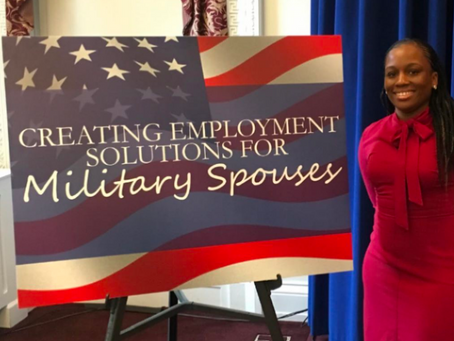 Human Resources Director, Chanel Lamb, goes to the White House and discusses important topics