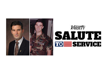Rich M. Jones, selected as one of Variety's Annual Salute To Service Impact List Honoree