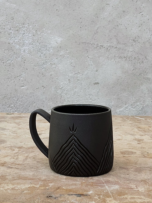 Dark Misty Mountain Mug (18oz)