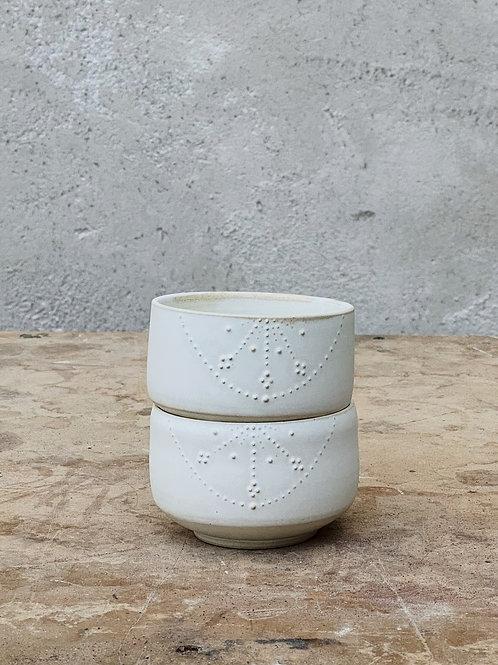 Helios Tea Bowls (set of 2 - 6.5oz)