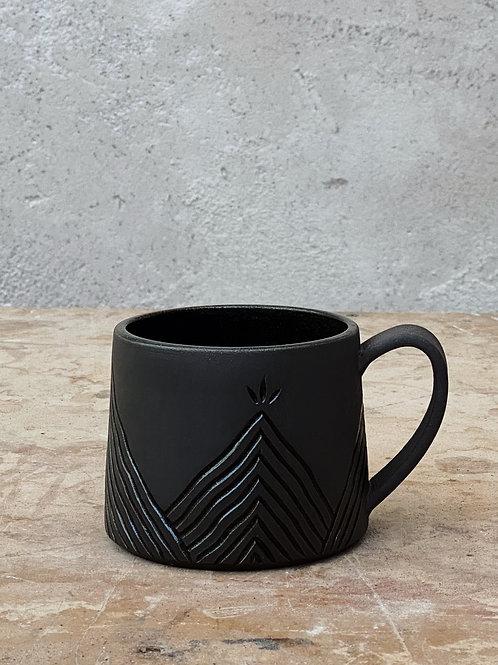 Dark Misty Mountain Mug (16oz)