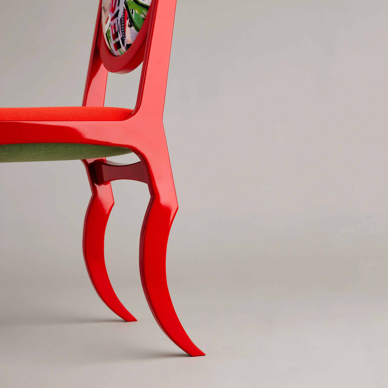 """La chaise """"Gazella"""", création Marc C"""