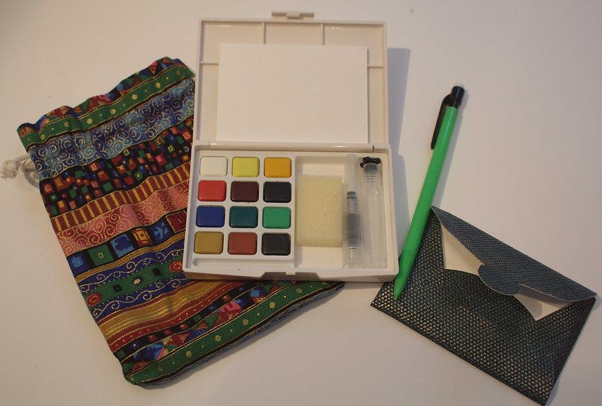 Watercolour ACEO Kit