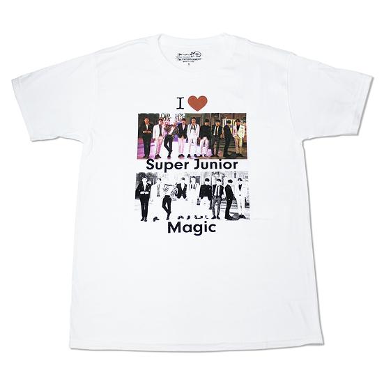 Playera Super Junior Magic