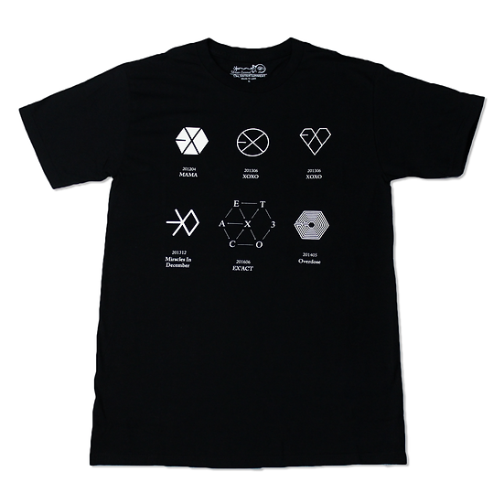 Playera EXO Logos