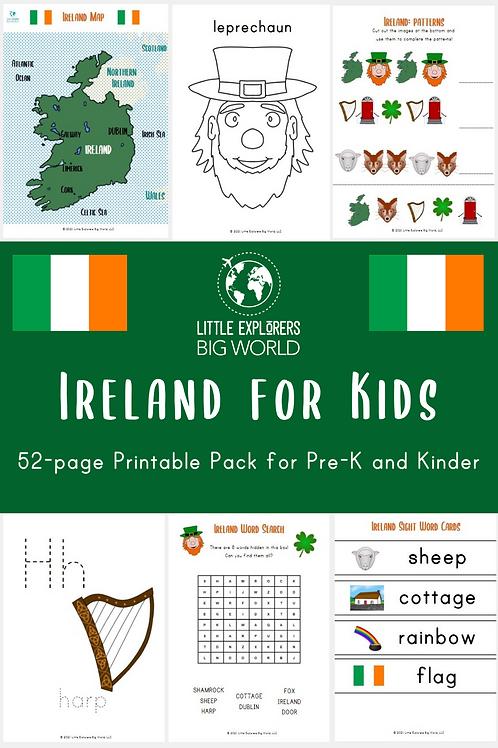 IRELAND Printable Pack (Pre-K/ K)