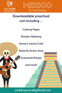 free preschool printables Mexico
