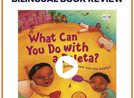 Bilingual Book Review: What Can You Do With a Paleta? / Que Puedes Hacer Con Una Paleta?