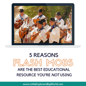 5 Reasons Flash Mobs are the best Educational Resource You're Not Using