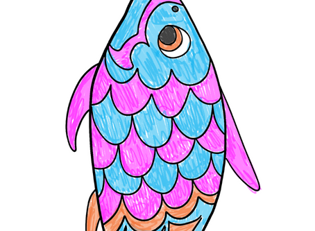 Japan: Koinobori (Fish Kite) Craft!