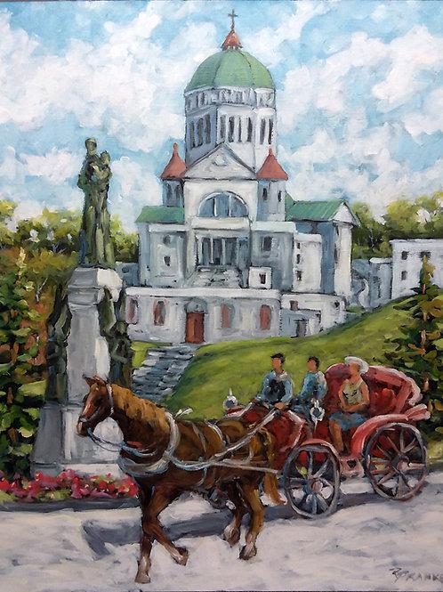 Oratoire St Joseph, Montréal, Québec, Canada - Peinture à l'huile