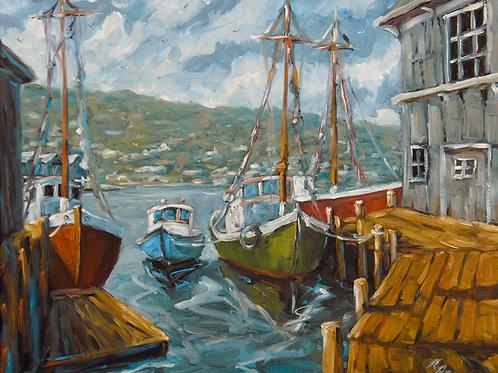 Dockside Boats