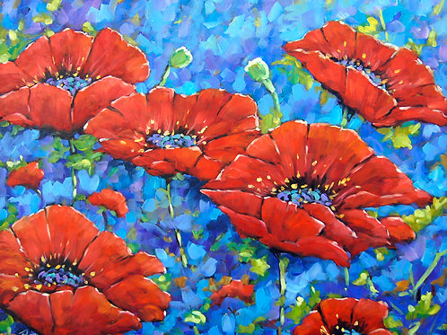 Royal Poppies