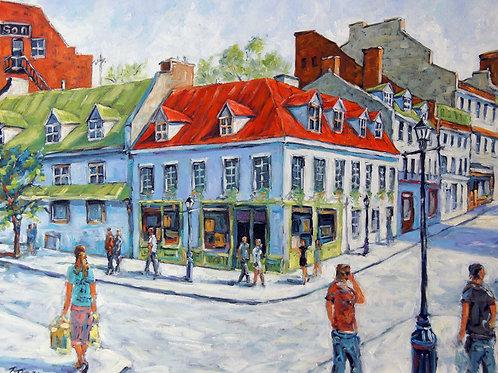 Montreal Historic Urban Streets