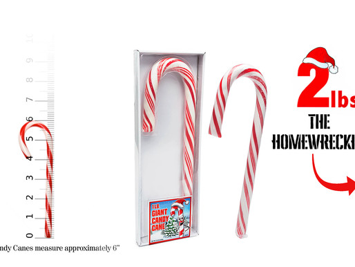 HOW MUCH HUMAN? Theoretical weight gained from: CANDY CANES