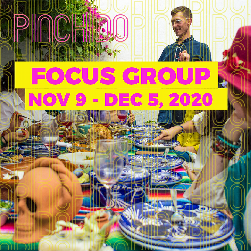 Pinchido Focus Group 2020 Welcome Session & Pantry Raids