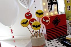 Festa Batman e Homem Aranha