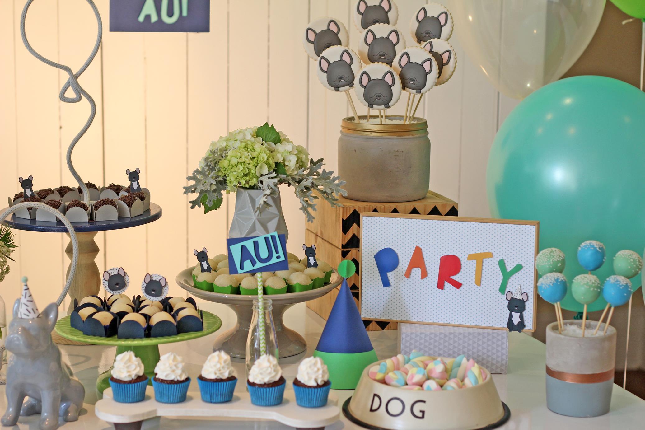 Festa Infantil - Bulldog do Lucas