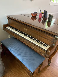 George Steck 1921 Baby Grand Piano