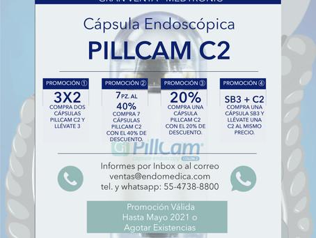PROMOCIÓN: Cápsula PILLCAM C2