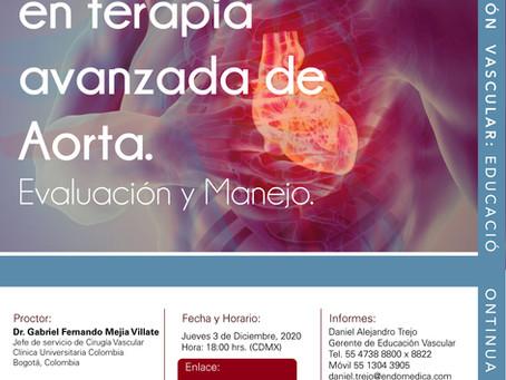 [Hendolat 2020] Complicaciones en terapia avanzada de Aorta. 03/12/20