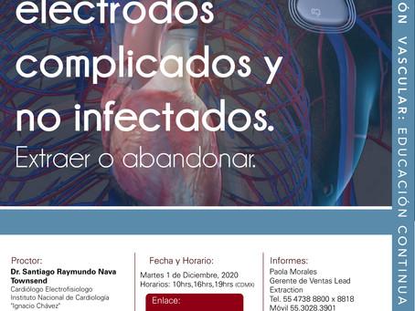 [CITIC 2020] Manejo de electrodos complicados y no infectados. Extraer o abandonar. 01/12/20