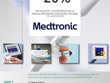 [Buen Fin 2020] Promociones MEDTRONIC