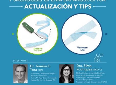 Slings Mediouretrales y sacrocolpopexia laparoscópica: Actualizaciones y tips