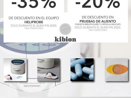 [Buen Fin 2020] Promociones KIBION