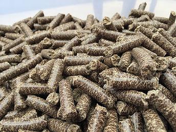 Leinkuchen Bio in Pelettform Kaninchen M
