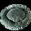 Thumbnail: Donut Kuschelkissen | smaragdgrün | 28 cm