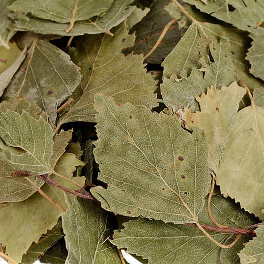 Getrocknete Blätter für Nager