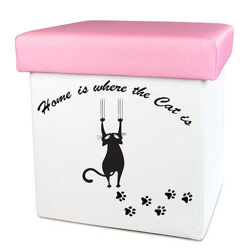 Faltbare Spielzeugkiste für Hunde und Katzen | Home is where the Cat is