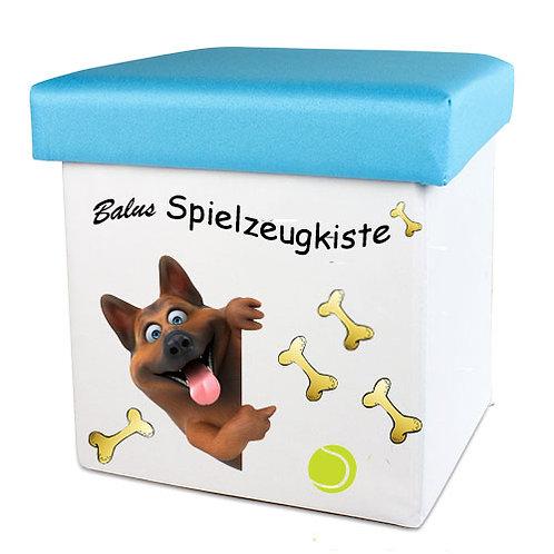 Faltbare Spielzeugkiste für Hunde und Katzen | Balus Spielzeugkiste
