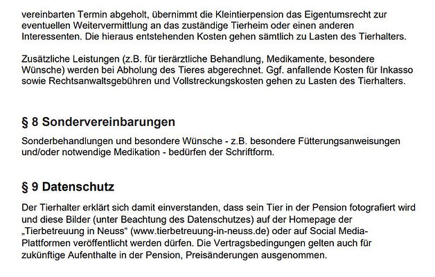 AGB Kaninchenpension Stand 31.01.2021-7.