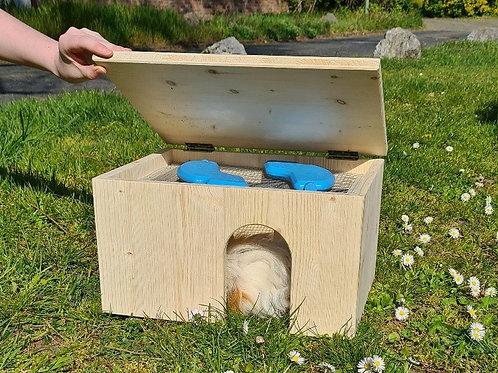 Meerschweinchen Kühl- und Wärmehaus