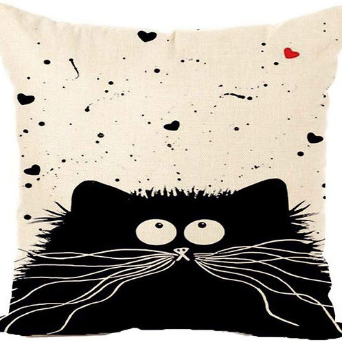 Katzen Kissen | Kissenüberzug | Kitty Cat