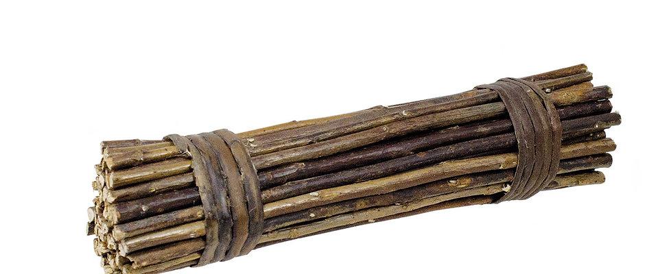 Knabberholz aus Weide